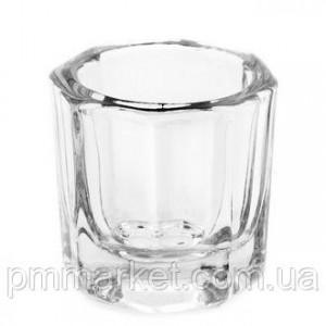 Стеклянный стаканчик для краски