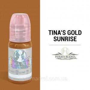 """Пигмент Perma Blend """"TINA'S GOLD SUNRISE"""""""