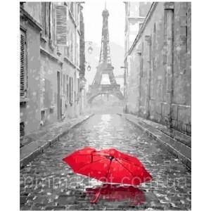 "Картина по номерам ""Зонт в Париже"" размер 40*50 см"