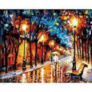 """Картина по номерам """" Осенний город"""" размер 40*50 см"""