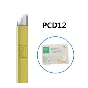 12 PCD иглы для микроблейдинга