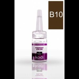 Пигмент для бровей B10 (Лесной орех) Kodi