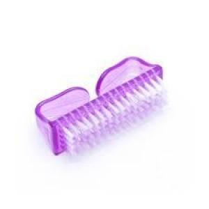 Щетка для удаления пыли с ногтей - Маникюрная щетка для пыли -  мини фиолетовая