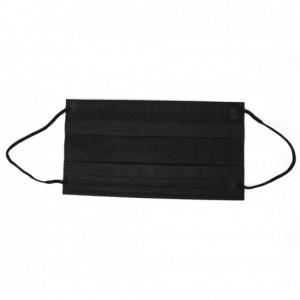 Защитная маска, Маска-повязка Черная 50 шт.