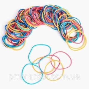 Бандажные резинки цветные