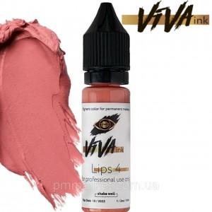 VIVA ink Lips 4 (6мл) пигмент для татуажа