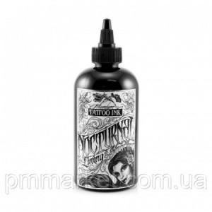 Тату краска Lining & Shading Black Nocturnal Tattoo Ink (30 мл)