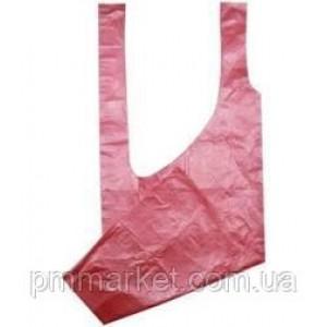 Фартук полиэтиленовый Panni Mlada 80Х125 см, 1 шт (розовый)