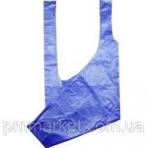 Фартук полиэтиленовый Panni Mlada 80Х125 см, 1 шт (синий)