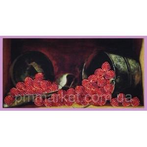 Набор для вышивки бисером Ягода-малина