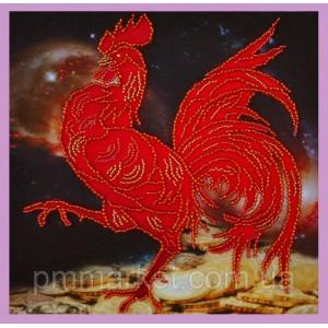 Набор для вышивки бисером Символ года Петуха