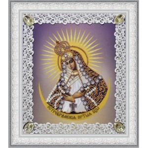 Набор для вышивки бисером Остробрамская икона Божьей Матери (ажур)