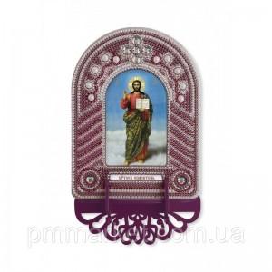"""Набір для створення ікони з вишитою рамкою-кіотом """"Христос Спаситель"""""""