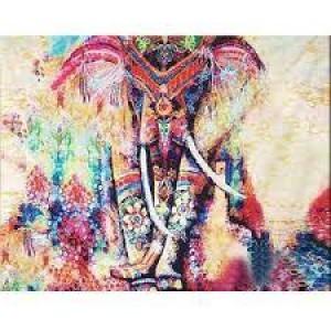 Алмазная мозаика Слон украшение. 30*40см Полная зашивка. Набор алмазной вышивки