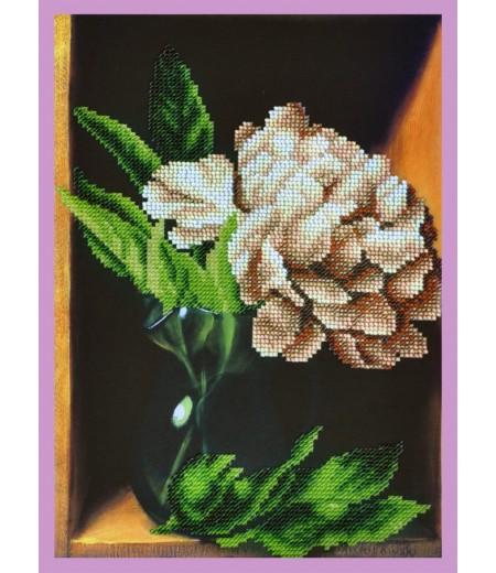 Набор для вышивки бисером Пион