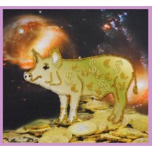 Набор для вышивки бисером Символ года Свиньи или Кабана