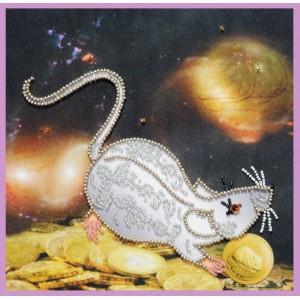 Набор для вышивки бисером Символ года Крыса