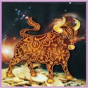 Набор для вышивки бисером Символ года БЫК