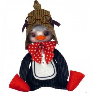 """Набiр для шиття м'якої іграшки """"Пінгвін"""""""