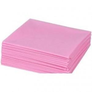 Простынь 0,8*2 10шт/уп Розовая