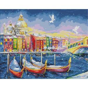 Алмазная мозаика 40х50 - Сказочная Венеция