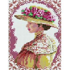 Набор алмазной вышивки мозаики - Аристократическая дама