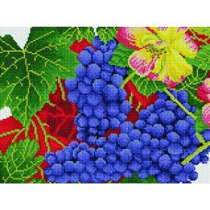Набор алмазной вышивки мозаики - Осенний виноград