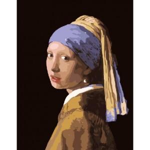 Девушка с жемчужной серёжкой. Ян Вермеер