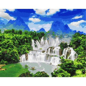 Водопад Детиан
