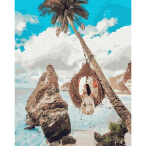 Девушка на райских островах