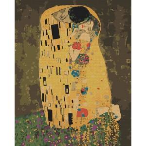 «Поцелуй» Густава Климта