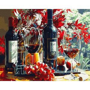 Багровое вино