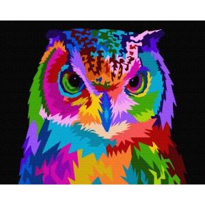 Красочная сова