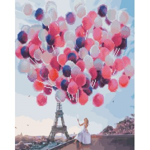 Париж в воздушных шариках