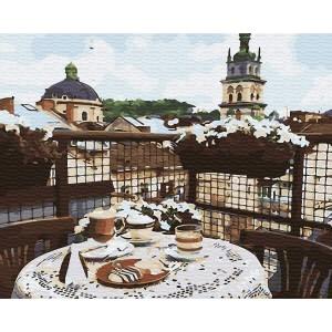 Кофе на крыше Львова