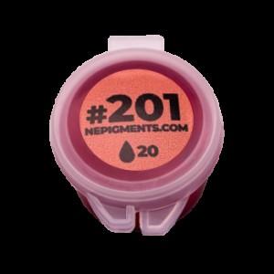 """Пробник пигмент для татуажа губ """"Тёплый розовый"""" №201 Елены Нечаевой."""