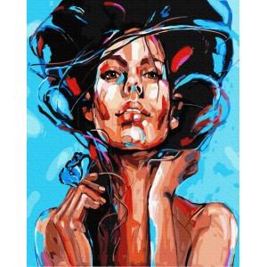 Живописный портрет женщины