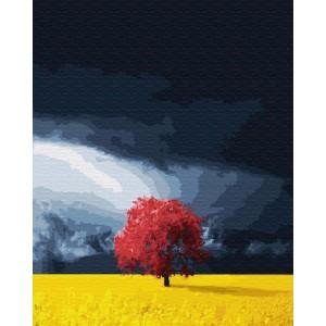 Поле перед грозой