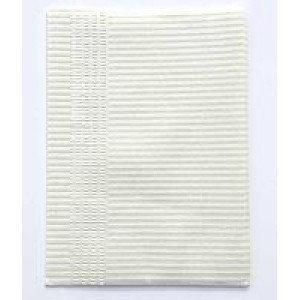 Нагрудники стоматологические трехслойные текстурированные салфетки 10шт (белые)