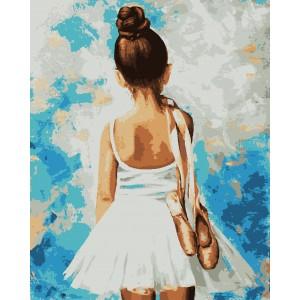 """Картины по номерам """"Балет"""" 40*50 см"""
