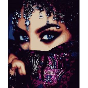 """Картины по номерам """"Арабская красота"""" 40*50 см"""