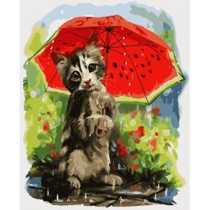 """Картины по номерам """"Дождик"""" 40*50 см"""