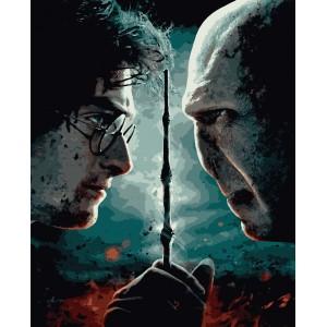 """Картины по номерам """"Гарри Поттер. Противостояние"""" 40*50 см"""