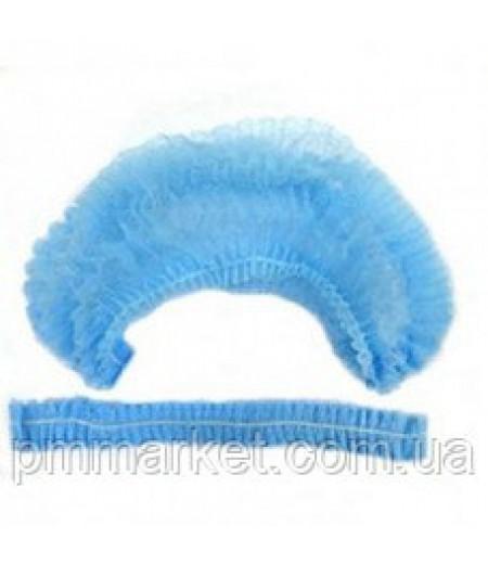 Шапочка одноразовая голубая (1 шт)